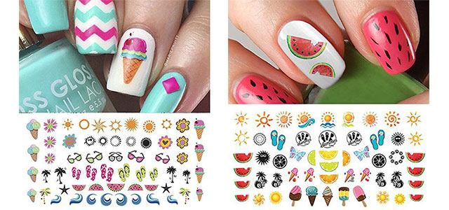 10-Summer-Nails-Art-Decals-Stickers-2017-f