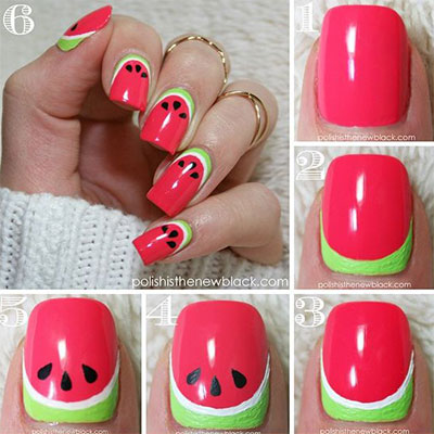 12-Easy-Summer-Nail-Art-Tutorials-For-Beginners-2017-1