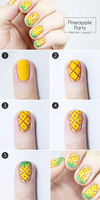 12-Easy-Summer-Nail-Art-Tutorials-For-Beginners-2017-11