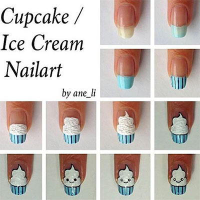 12-Easy-Summer-Nail-Art-Tutorials-For-Beginners-2017-3