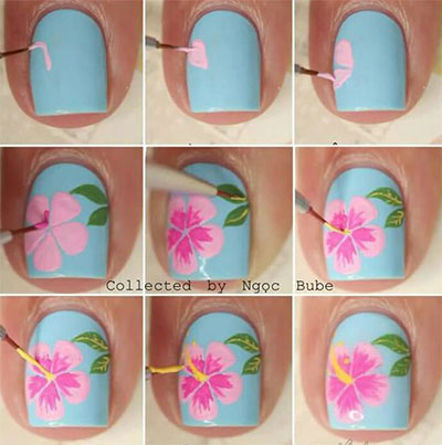 12-Easy-Summer-Nail-Art-Tutorials-For-Beginners-2017-5