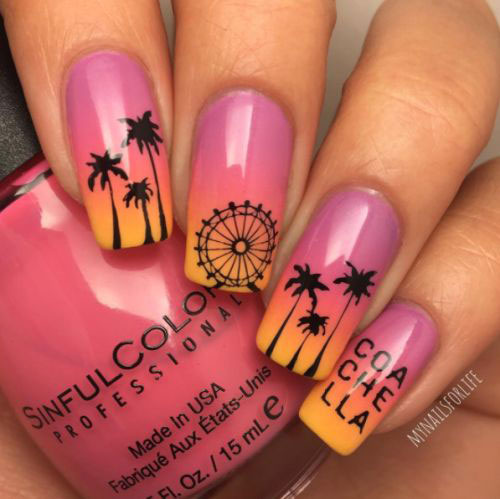 12 summer gel nail art designs amp ideas 2017 fabulous