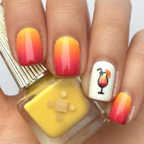 12 Summer Gel Nail Art Designs Ideas 2017 Fabulous Nail Art Designs