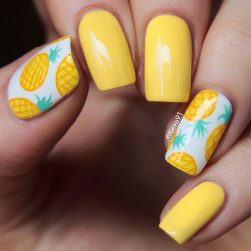 12 Summer Gel Nail Art Designs Amp Ideas 2017 Fabulous Nail Art Designs