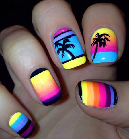 15-Neon-Summer-Nails-Art-Designs-Ideas-2017-15