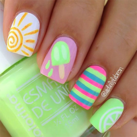 15-Simple-Easy-Summer-Nails-Art-Designs-Ideas-2017-6