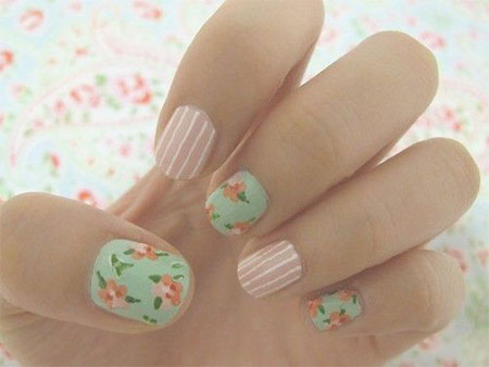 15 Simple Amp Easy Summer Nails Art Designs Amp Ideas 2017 Fabulous Nail Art Designs