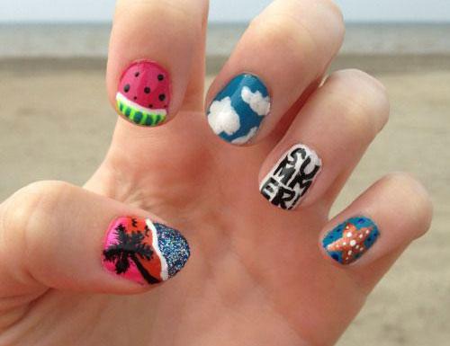 15-Summer-Beach-Nails-Art-Designs-Ideas-2017-11