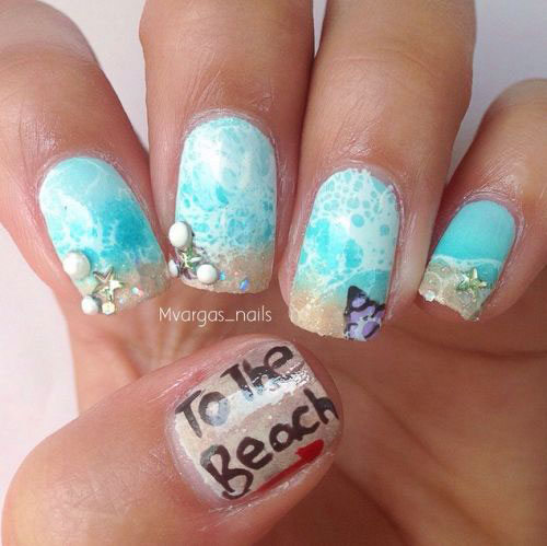 15-Summer-Beach-Nails-Art-Designs-Ideas-2017-13