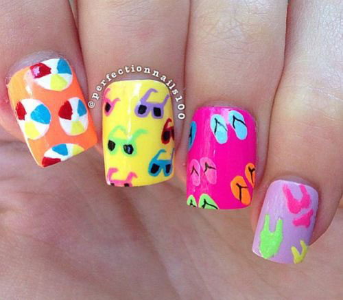 15-Summer-Beach-Nails-Art-Designs-Ideas-2017-14