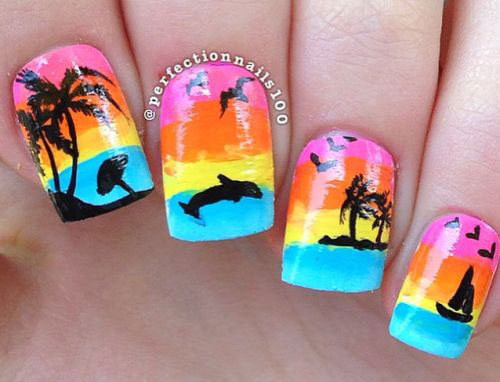 15-Summer-Beach-Nails-Art-Designs-Ideas-2017-15