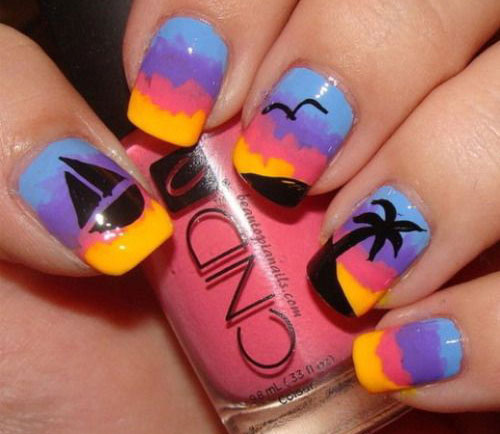 15-Summer-Beach-Nails-Art-Designs-Ideas-2017-6