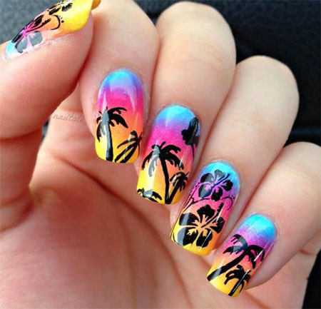 20 Best Summer Nail Art Designs Amp Ideas 2017 Fabulous Nail Art Designs