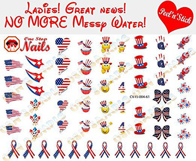Amazing-4th-of-July-Nails-Art-Stickers-Decals-2017-3