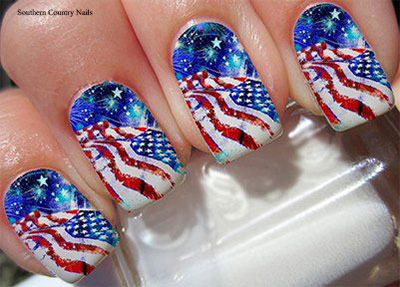 Amazing-4th-of-July-Nails-Art-Stickers-Decals-2017-7