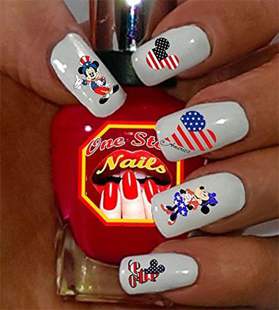 Amazing-4th-of-July-Nails-Art-Stickers-Decals-2017-8