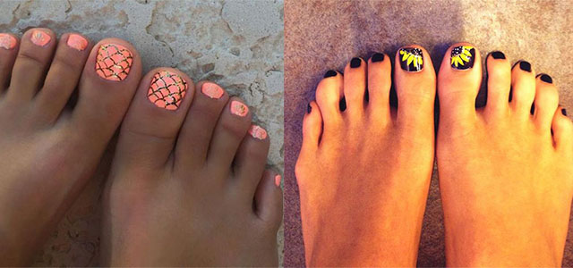 Summer Toe Nails Art Designs Ideas 2017 Fabulous Nail Art Designs