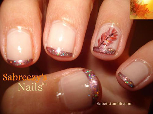 15 autumn acrylic nail art designs ideas 2017 fall nails 15 autumn acrylic nail art designs ideas 2017 prinsesfo Image collections