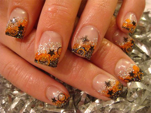 Nail art 2017 fall best nails 2018 15 autumn acrylic nail art designs ideas 2017 fall nails prinsesfo Gallery