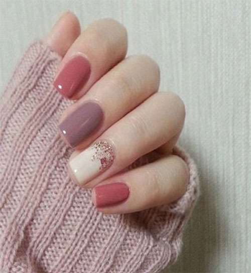 15 autumn gel nail art designs ideas 2017 fall nails - Gel Nails Designs Ideas