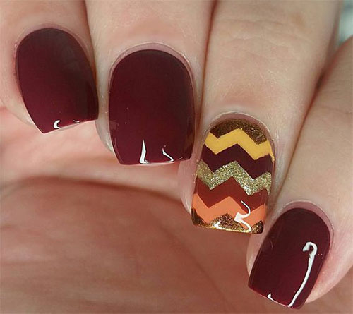 15-Autumn-Gel-Nail-Art-Designs-Ideas-2017- - 15+ Autumn Gel Nail Art Designs & Ideas 2017 Fall Nails Fabulous
