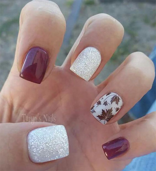15-Autumn-Leaf-Nail-Art-Designs-Ideas-2017-Fall-Nails-9