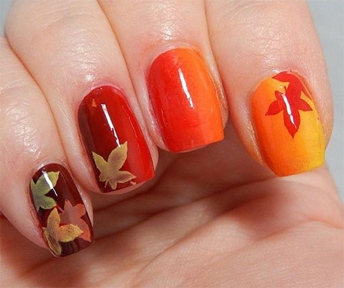 15-Easy-Fall-Autumn-Nails-Art-Designs-Ideas-2017-14