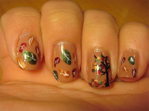 15-Easy-Fall-Autumn-Nails-Art-Designs-Ideas-2017-15