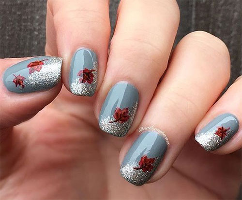 15-Easy-Fall-Autumn-Nails-Art-Designs-Ideas-2017-9