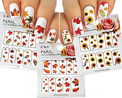 Autumn-Nail-Art-Stickers-Decals-2017-1