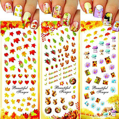 Autumn-Nail-Art-Stickers-Decals-2017-2