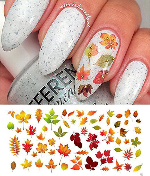Autumn-Nail-Art-Stickers-Decals-2017-4