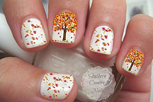Autumn-Nail-Art-Stickers-Decals-2017-5