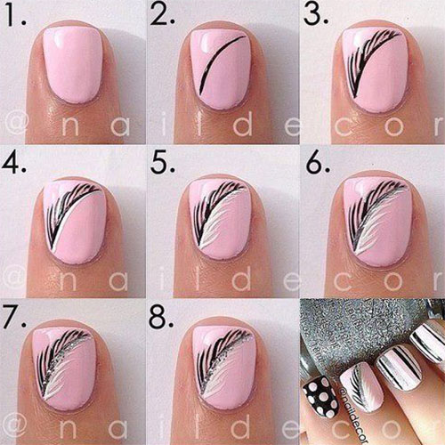 Autumn-Nail-Art-Tutorials-For-Beginners-2017-3
