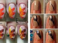 Autumn-Nail-Art-Tutorials-For-Beginners-2017-F