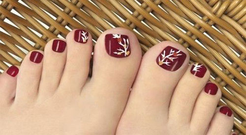 Autumn toe nail art designs ideas 2017 fall nails fabulous autumn toe nail art designs ideas 2017 fall prinsesfo Choice Image