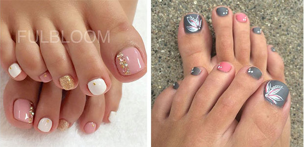 Autumn Toe Nail Art Designs & Ideas 2017 | Fall Nails