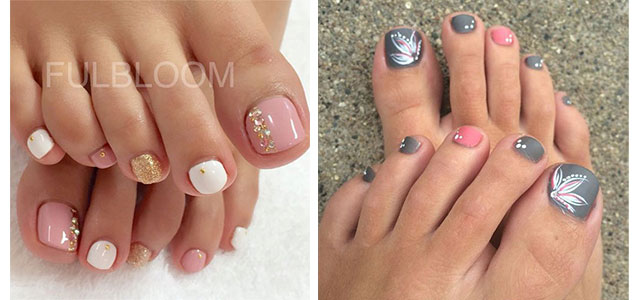 autumn toe nail art designs ideas 2017 fall - Toe Nail Designs Ideas