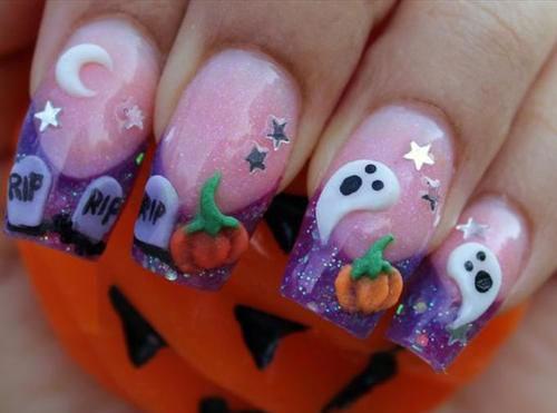 15-Amazing-3d-Halloween-Nails-Art-Designs-Ideas-2017-5