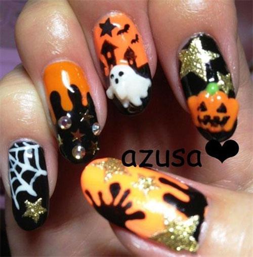15-Amazing-3d-Halloween-Nails-Art-Designs-Ideas-2017-6