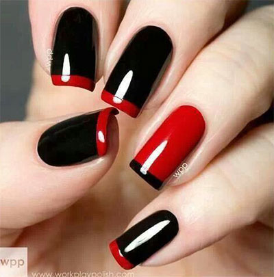 15-Black-White-Red-Halloween-Nails-Art-Designs-Ideas-2017-10