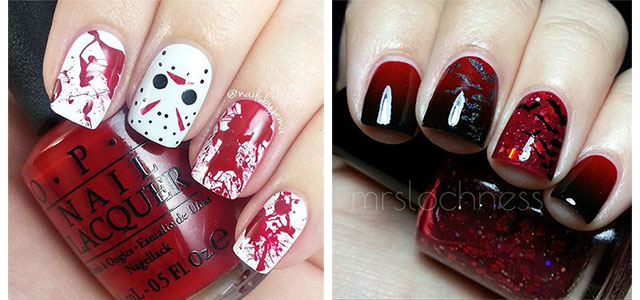 15-Black-White-Red-Halloween-Nails-Art-Designs-Ideas-2017-f