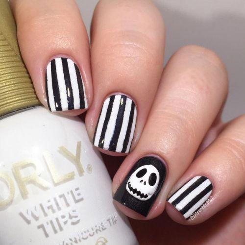 Halloween Nail Art Designs Simple