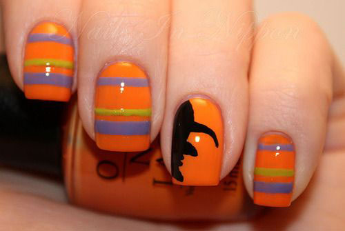 15-Easy-Simple-Halloween-Nails-Art-Designs-Ideas-2017-7
