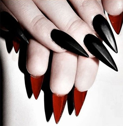 15 halloween acrylic nails art designs ideas 2017 fabulous 15 halloween acrylic nails art designs ideas 2017 prinsesfo Image collections