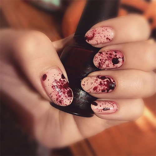 15-Halloween-Blood-Nails-Art-Designs-Ideas-2017-9