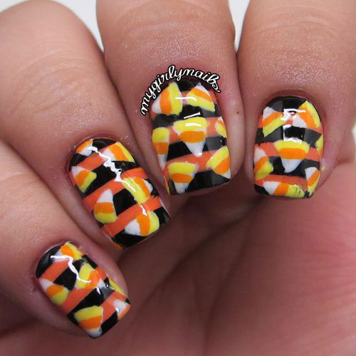 15-Halloween-Candy-Corn-Nails-Art-Designs-Ideas-2017-15