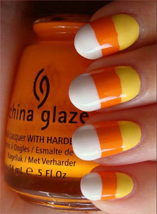 15-Halloween-Candy-Corn-Nails-Art-Designs-Ideas-2017-8
