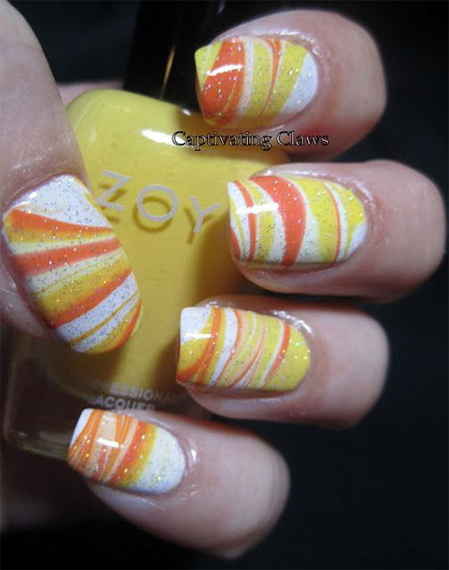 15-Halloween-Candy-Corn-Nails-Art-Designs-Ideas-2017-9