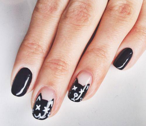 15-Halloween-Cat-Nails-Art-Designs-Ideas-2017-1